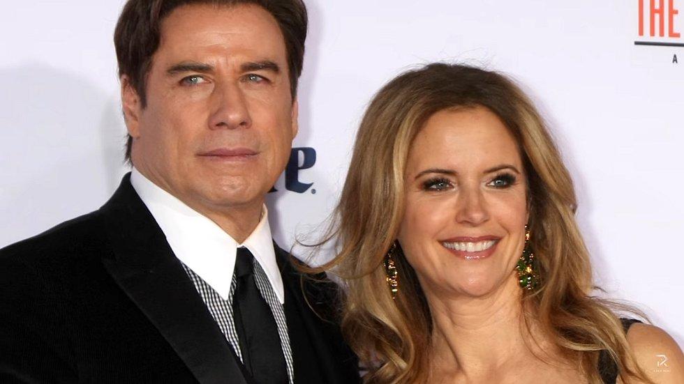 John Travolta a Kelly Preston