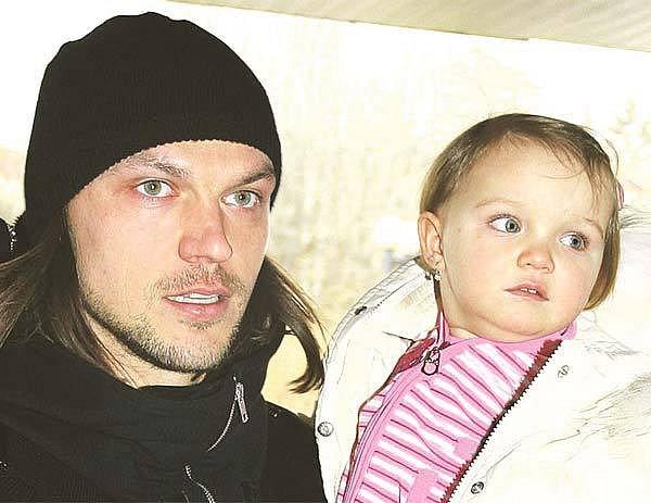 Tomáš za největší lásku vživotě považuje svou dceru Kačenku.