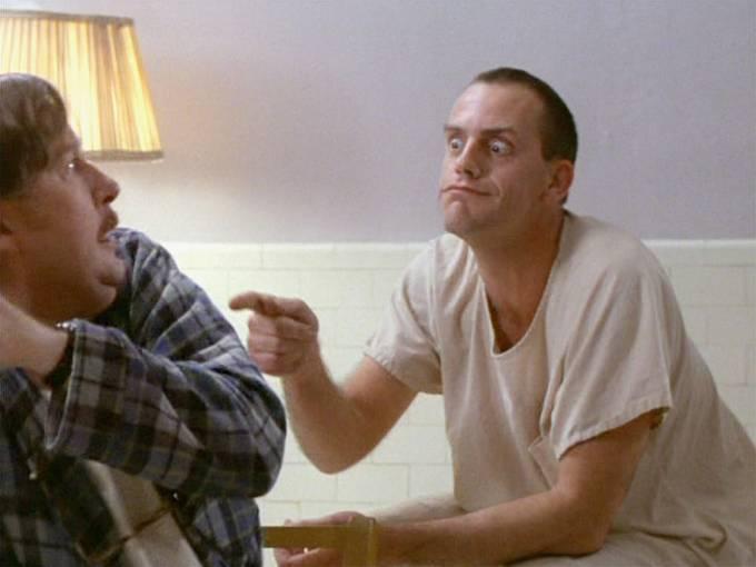 Zaujal hned první filmovou rolí v Přeletu nad kukaččím hnízdem (1975).