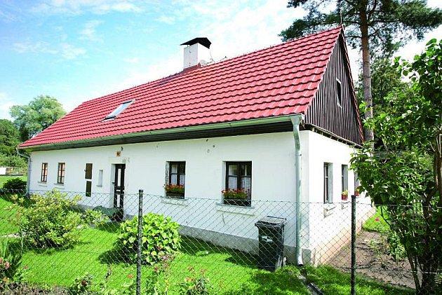 Chalupa Voříškových. Tady trávila rodina svou dovolenou.