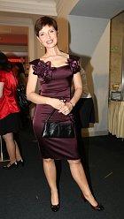 Markéta Fialová při předávání cen Týtý 2009.