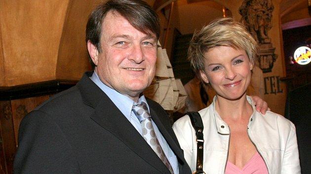 Ladislav Štaidl s Ivetou Bartošovou tvořili v minulosti pár.