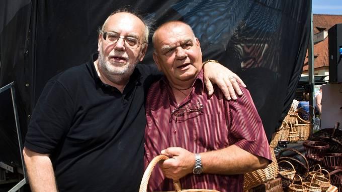 Bratři František a Honza Nedvědovi