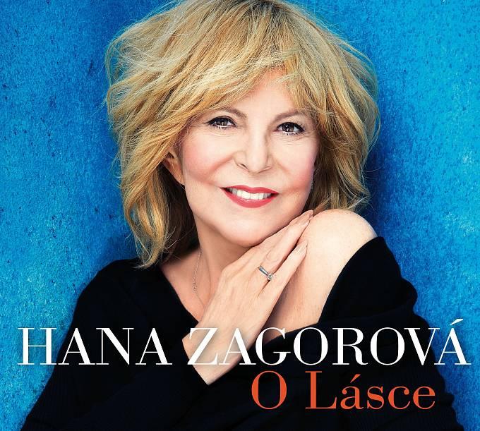 Hana Zagorová a přebal jejího alba