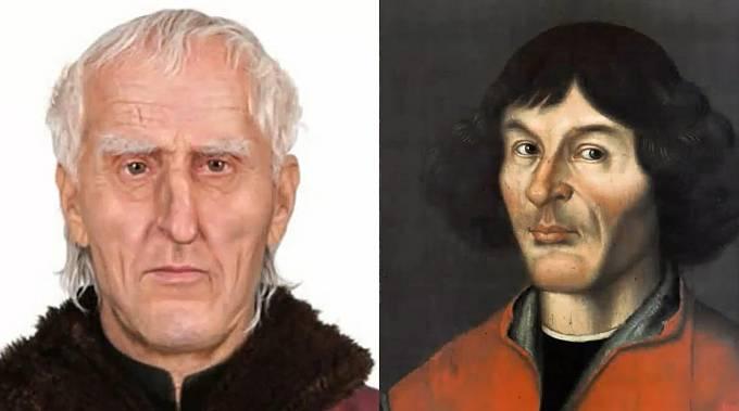 Slavný astronom Mikuláš Koperník.