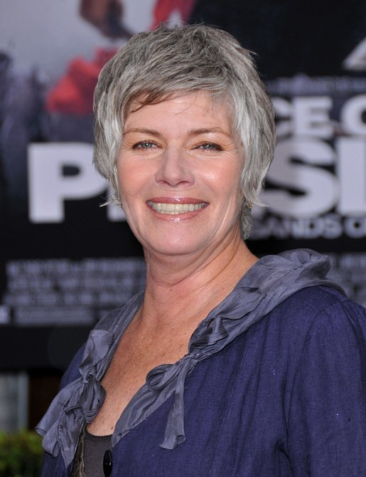 Kelly má nyní šedivé vlasy. Poznali byste ji?