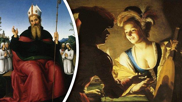 Svatý Augustin dokázal na víru obrátit mnoho zbloudilých žen.