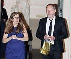 Liam Cunningham (Davos Mořský) s manželkou Colette Cunningham