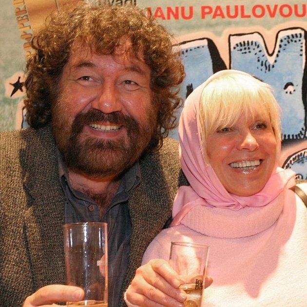 Hana Čížková má s režisérem Troškou takřka rodinné vztahy, jak sama říká.