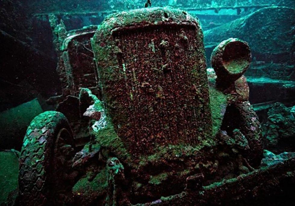 I takovéto poklady lze nalézt pod vodou.