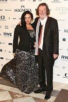 Bolek Polívka s manželkou