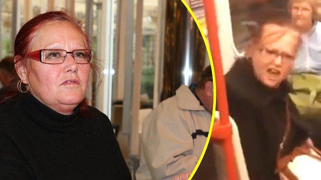 Julie z metra se stala novou celebritou...