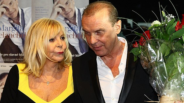 Hanka Zagorová a Štefan Margita
