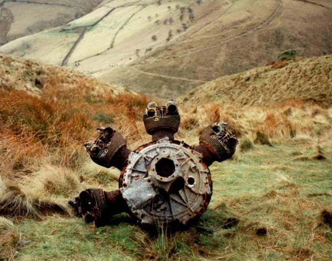 V Howden Moor skutečně kdysi havarovalo několik letounů.
