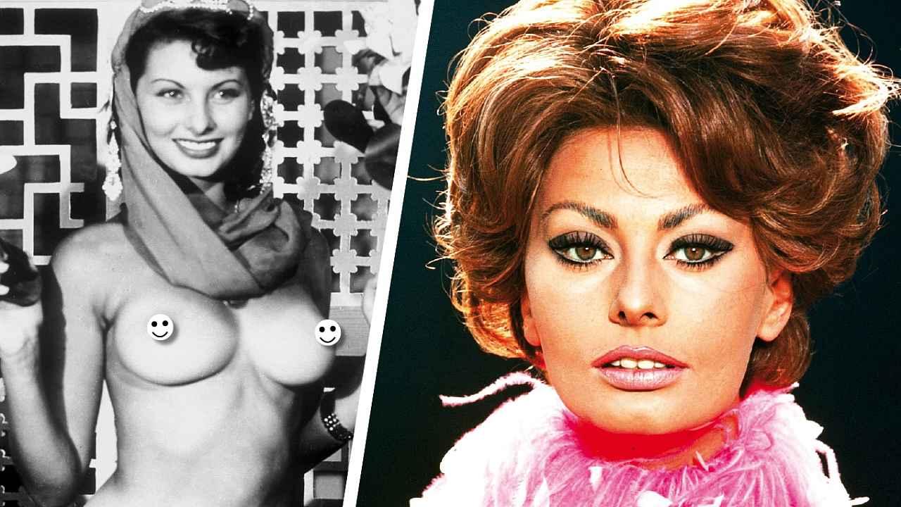 Sophia loren naked photos