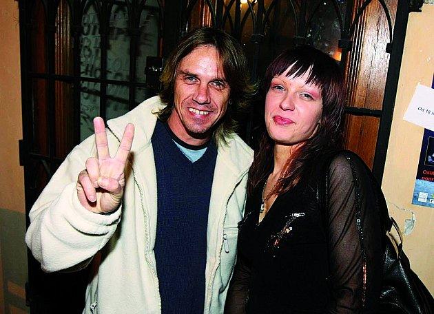 Michal Penk a přítelkyně