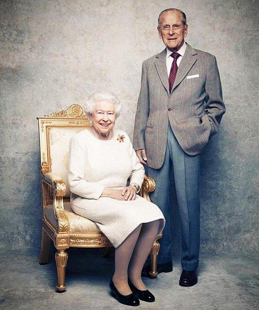 Královna Alžběta a princ Philip: Výročí svatby