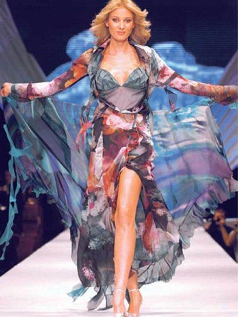 Kateřina je vČechách hvězdou většiny módních přehlídek.