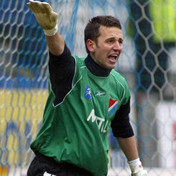 Brankář Raška v dánské lize sparťanského soupeře Odense zmákl.