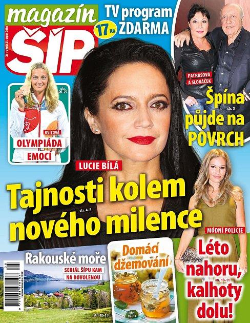 Titulní strana Magazínu Šíp 31.8.2016