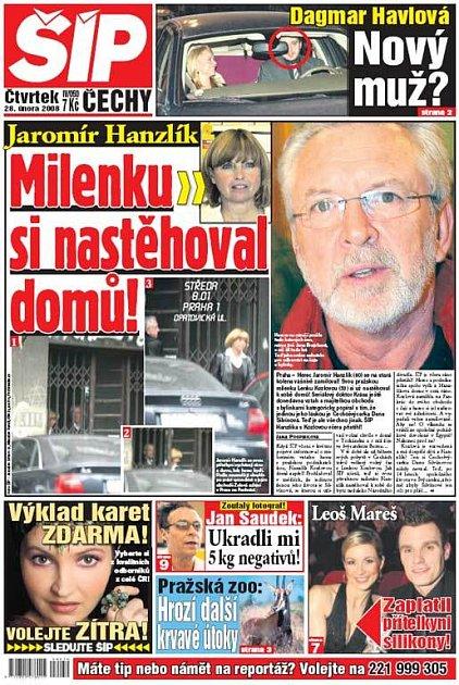 Titulka 28. 2. 2008