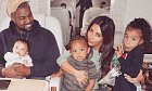 Kim Kardashian, Kanye West a dcerka Chicago West