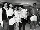 Beatles a Muhamad Ali.