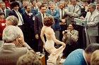 Burleskní představení na Wall Street v roce 1922.