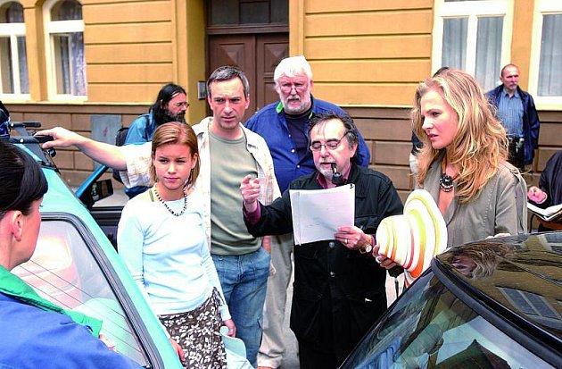 Dušan Klein proslavil herce Pavla Kříže a Davida Matáska.