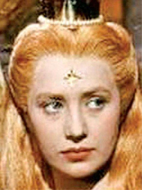 Matka Ondřeje Marie Kyselková ve slavné roli princezny Lady.