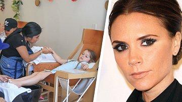 Victoria Beckham a její dcera Harper