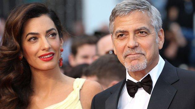Amal a George Clooneyovi