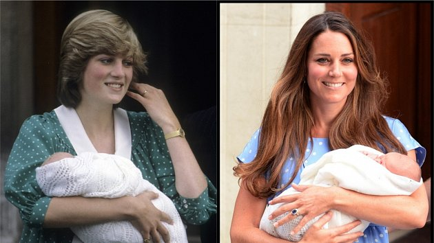 Kate Middleton, Diana