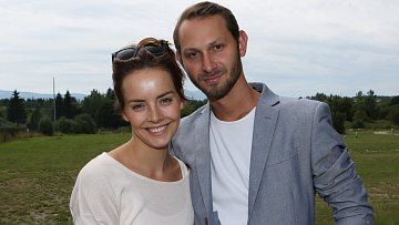 Gabriela Lašková s manželem Filipem