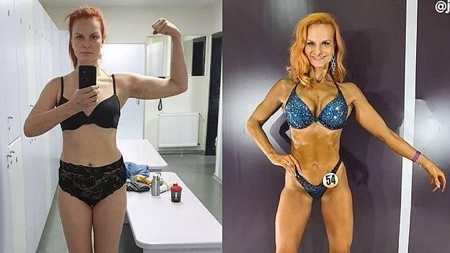 Iva Pazderková prošla poslední rok velikou vizuální proměnou, věnuje se fitness.