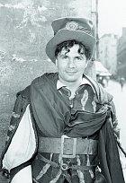 Na počátku filmové kariéry, Tehdy chtěl být alespoň druhořadým hercem.