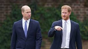 Princ Harry a princ William