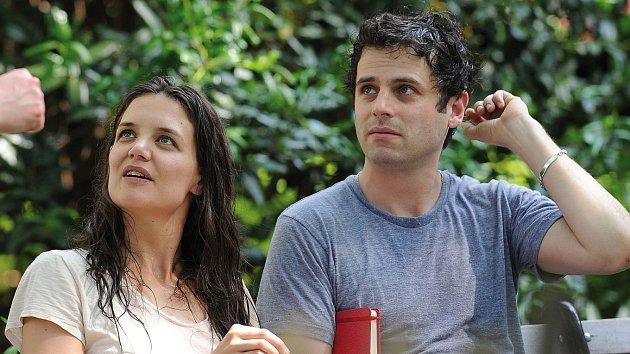 Katie si s Lukem prý rozumí i mimo natáčení.