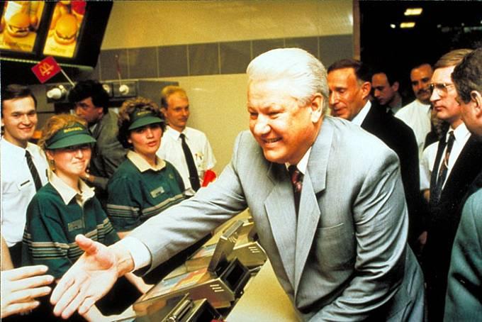 Například Borise Yeltsina, který se stal prvním prezidentem Ruska.