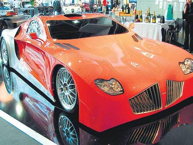 Super vůz z dílny Weber Sportscars.