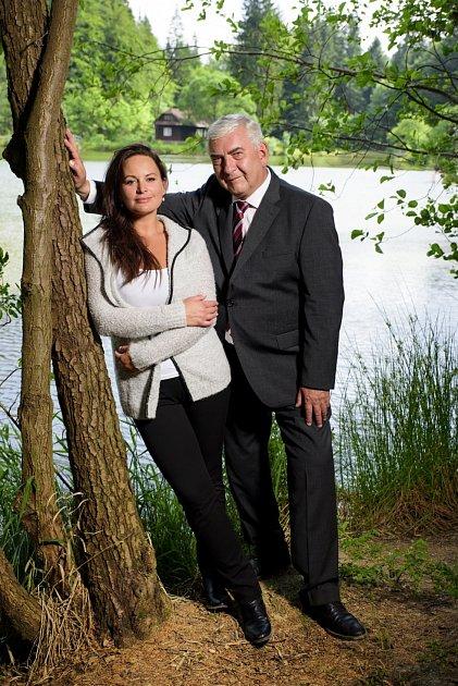 Miroslav Donutil a Jitka Čvančarová vseriálu Doktor Martin