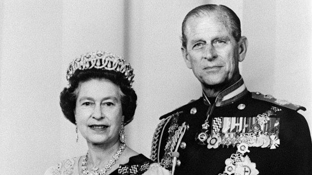 Prince Philip, královna Alžběta II