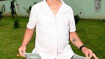 Petr Janda pořádal každoroční zahradní party, tentokrát s tématem naruby.