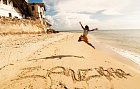 Pláže nabízejí hodně jemný písek.