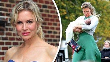 Renée Zellwegerová si dítě pochovala alespoň coby Bridget Jonesová.