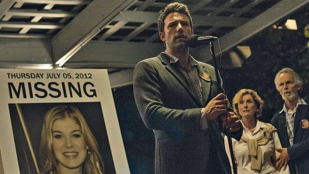 Hlavním 'hrdinou' snímku Zmizelá je Nick vpodání Bena Afflecka.