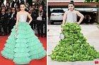 Šaty nalevo stály hotové jmění. To zelí koupíte v Albertu mnohem levněji.