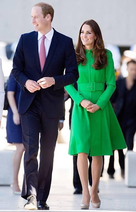 Princ William a Kate Middletonová