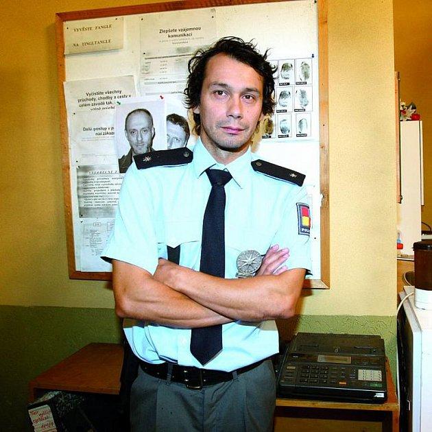 Pavel Liška se poprvé předvede v roli policajta.