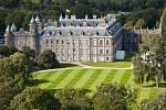 Palác Holyrood, oficiální rezidence královny Alžběty ve Skotsku